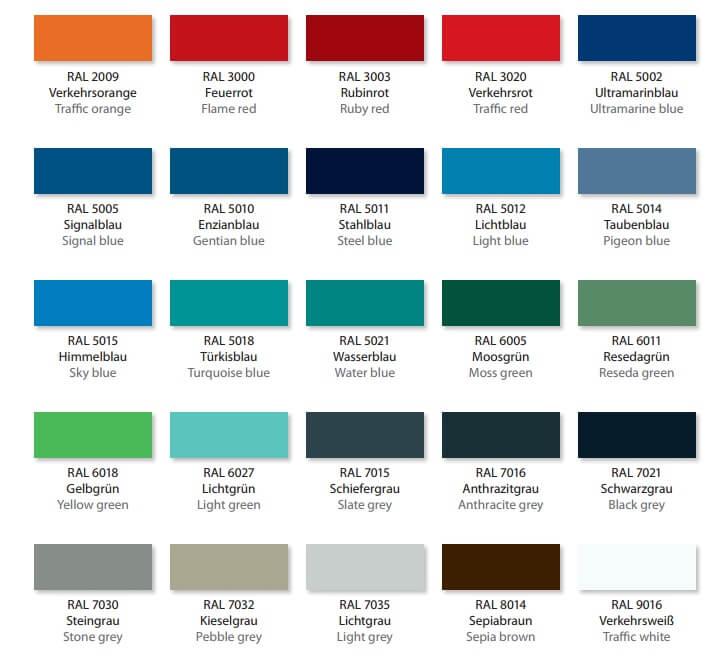 Nieuwe kleuren Lokoma